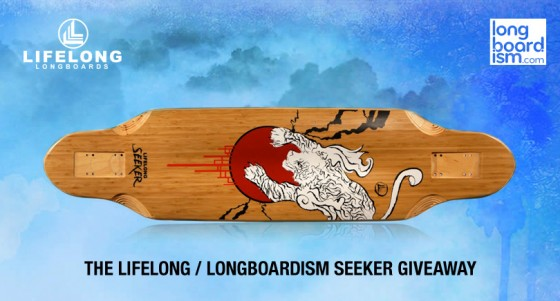 Enter to WIN a Lifelong Seeker Longboard Deck